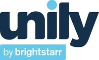 Unily by BrightStarr Logo (PRNewsFoto/BrightStarr)