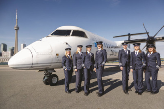 Women Soar at Porter (WSP) launched in 2016 led by dedicated Porter volunteers. The committee actively promotes opportunities that exist for women. WSP is extending its community outreach by supporting Dress for Success Toronto. (CNW Group/Porter Airlines Inc.)
