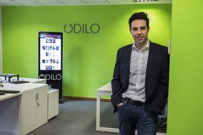 Rodrigo Rodriguez ODILOs CEO in his headquarters