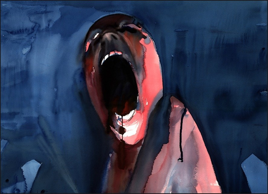Own Art from The Wall! Gerald Scarfe, San Francisco Art Exchange LLC, SFAE.COM