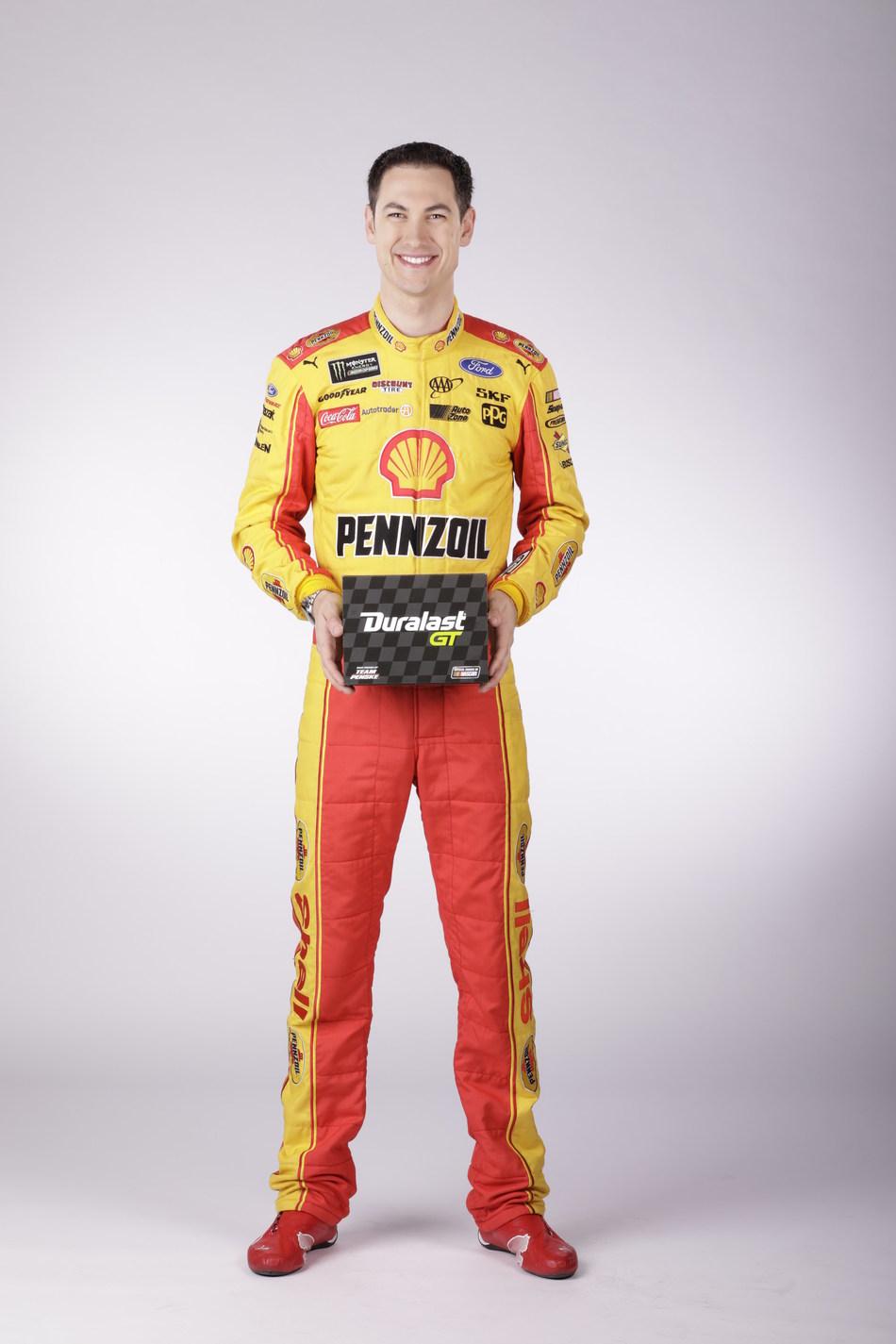 AutoZone Introduces New Duralast GT(SM) Brake Pads with Team Penske Driver Joey Logano (PRNewsFoto/AutoZone, Inc.)