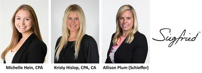 Siegfried Welcomes Three New Associate Directors to its National Market Leadership Team in its South Region: Michelle Hein, Kristy Hislop, and Allison Plum (Schieffer)
