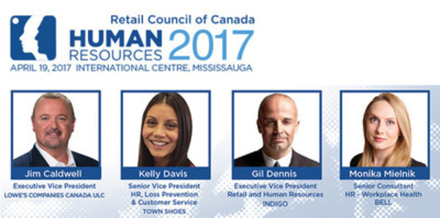 Leading human resource professionals and retailers in Canada will discuss how to proactively manage the increasing complexity of retail workplace issues. (CNW Group/Retail Council of Canada)