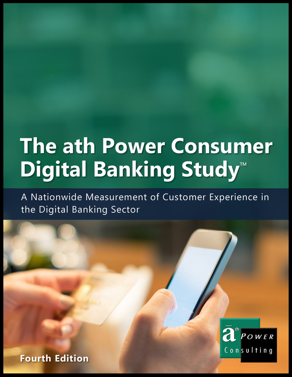 The ath Power Consumer Digital Banking Study is a detailed assessment of digital banking usage, offerings, delivery methods, and customer experiences at financial institutions nationwide. To learn more or to order the report, visit: http://www.athpower.com/the-ath-power-consumer-digital-banking-study/