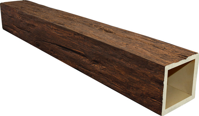 "Custom Timber Beams are available in 1000's of custom sizes, with widths up to 36"" x 36"" and lengths up to 30'. Each is hand-finished to capture the authentic look of real wood for your home."