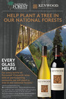 Kenwood Vineyards plants trees for National Forest Foundation