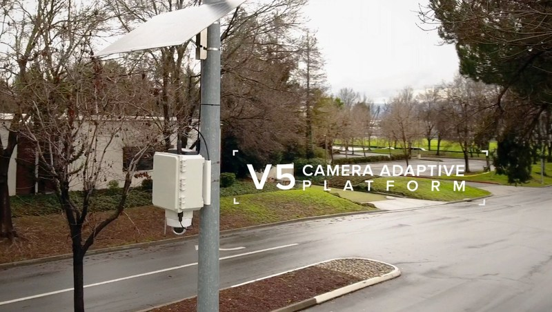 V5 Systems transforms Axis security cameras into self-powered devices that protect people in the outdoors.