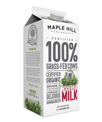 Maple Hill Creamery 100% Grass-Fed Organic Milk