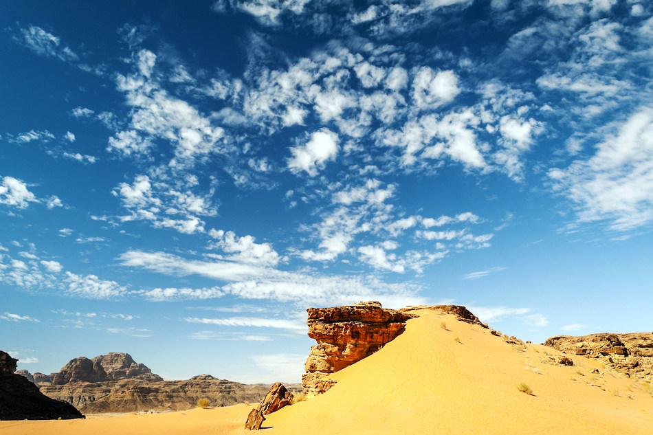 Wadi Rum Desert, Jordan. Photo Credit: dreamstime