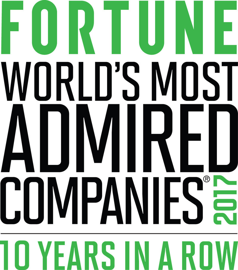 DaVita has been recognized as one of FORTUNE Magazine's World's Most Admired Companies in 2017. This is the 10th consecutive year and 11th year overall the company has appeared on the list.