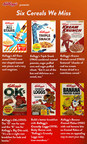 Happy National Cereal Day: Six Kellogg Cereals We Miss