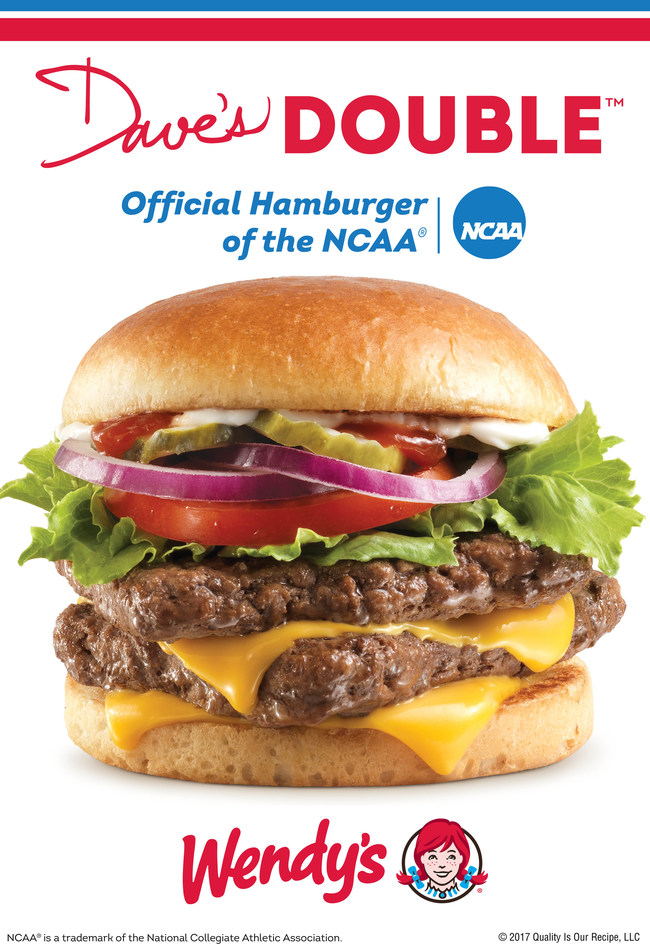 Wendy's, the Official Hamburger of the NCAA, will kick-off the Drive to the Final Four road trip on Selection Sunday. The three-week long road trip celebrates the unreasonable effort shared by Wendy's and NCAA fans alike, whether that means only using fresh, never frozen beef or driving hundreds of miles to show their support and loyalty for their teams. Follow the official hashtag #Drive2theFinal4 as we chronicle the road trip on Wendy's social media channels.