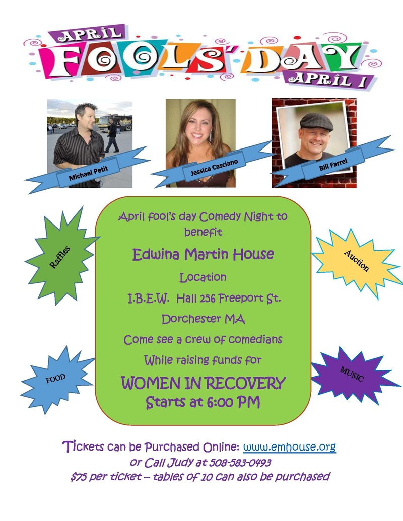 Edwina Martin House Hosts Comedy Show to Support Woman in Recovery