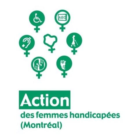 Logo : Action des femmes handicapées (Groupe CNW/Action des femmes handicapées (Montréal))