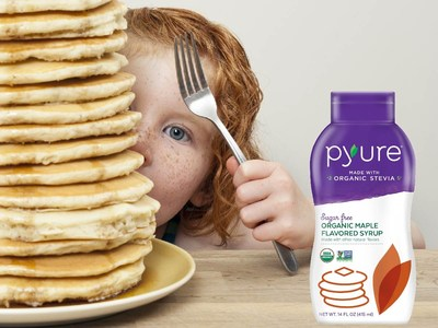 Pyure Brands unveils Organic Sugar Free Maple Flavored Syrup