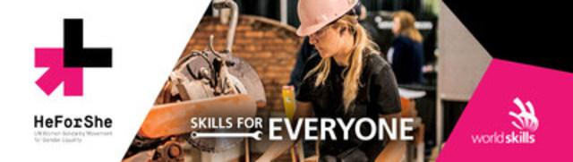 Skills/Compétences Canada Backs HeForShe (CNW Group/Skills/Compétences Canada)