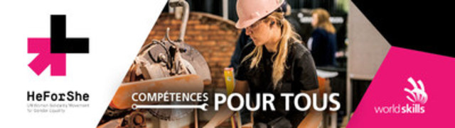 Skills/Compétences Canada appuie le mouvement HeForShe (Groupe CNW/Skills/Compétences Canada)