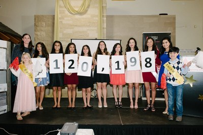 After seven weeks of fundraising for the Leukemia & Lymphoma Society, the Silicon Valley & Monterey Bay Area Chapter's group of 10 incredible high school students raised over $120,000.