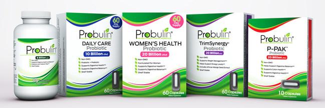 Probulin Probiotic Product Suite
