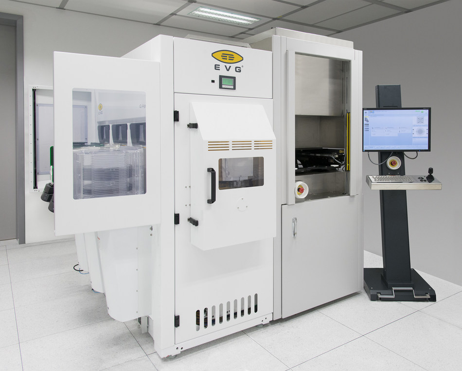 The IQ Aligner NT from EV Group is the industry's most advanced automated mask alignment system for advanced packaging applications. It provides a 2X increase in throughput and 2X improvement in alignment accuracy over the previous-generation system, as well as up to 30 percent lower cost of ownership compared to competing systems.