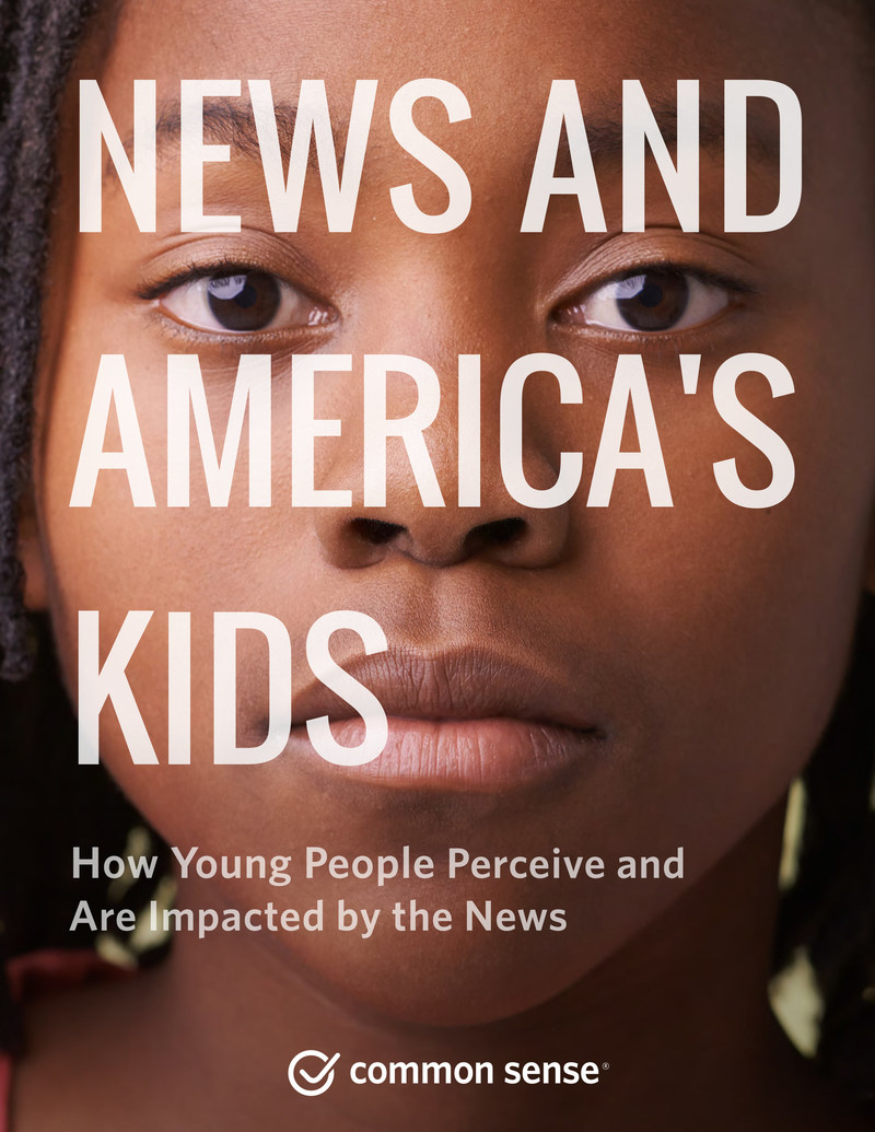 """News and America's Kids"" investigates how children get their news, how much they trust different news sources, whether they can spot ""fake news,"" and more."