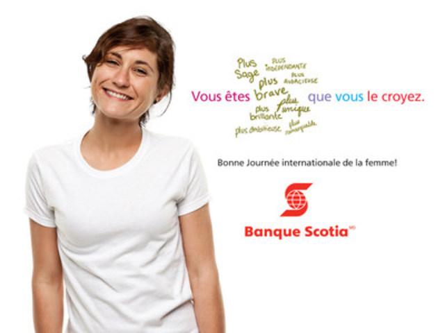 Bonne Journée internationale de la femme! (Groupe CNW/Scotiabank)