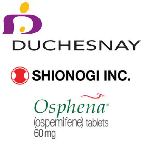 Logo: Duchesnay Shionogi Inc. Osphena (CNW Group/Duchesnay inc.)