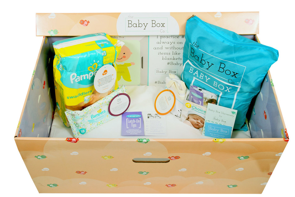 After completing the Ohio syllabus on BabyBoxUniversity.com, all new and expecting parents living in Ohio are eligible to receive a free Baby Box which includes newborn essentials such as Pampers Swaddlers diapers, Pampers baby wipes, Vroom activity cards from the Bezos Family Foundation, Lansinoh breast pads and nipple cream for breastfeeding mothers, onesie, and more.