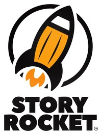 The pencil-shaped rocket is a registered trademark of Storyrocket.com