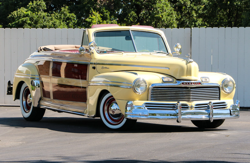 1948 Mercury Convertible one of many cars part of the Dan Kruse Classics auction March 25 in San Antonio, TX