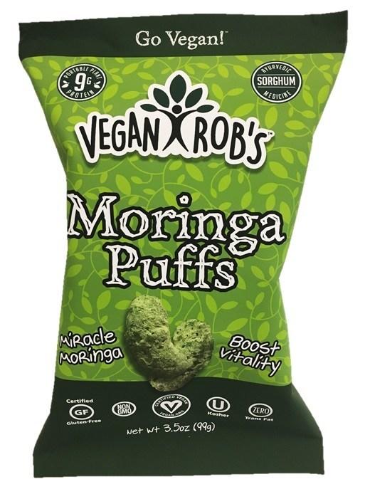 Vegan Rob's newest superstar...Moringa Puffs!