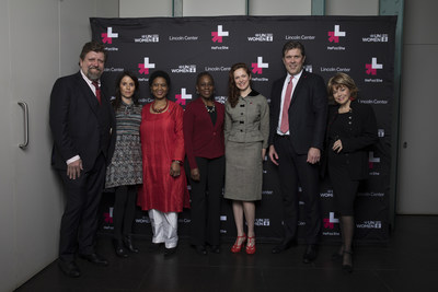 First Lady Of NYC Chirlane McCray, World Leaders, Celebrities, And Activists Launch UN Women's HeForShe Arts Week 2017
