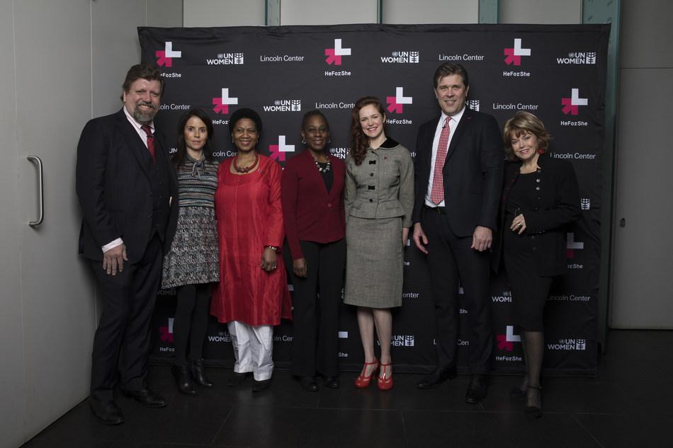 (PRNewsFoto/UN Women HeForShe)