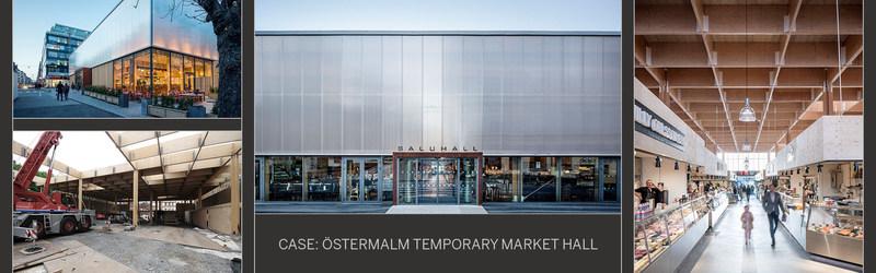 Metsa Wood: Temporary wooden market hall becomes eye-catching landmark (PRNewsFoto/Metsa Wood)