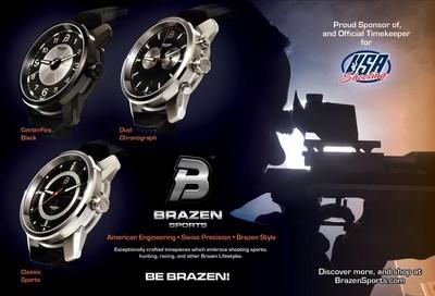 Be Brazen: USA Shooting Chooses Brazen Sports as Official Timekeeper