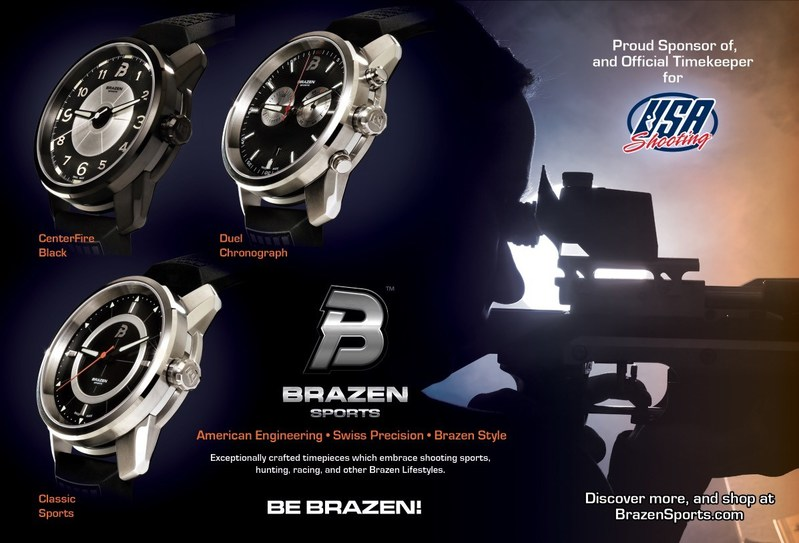 Be Brazen: USA Shooting Chooses Brazen Sports as Official Timekeeper