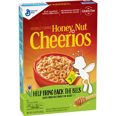 Honey Nut Cheerios #BringBackTheBees box
