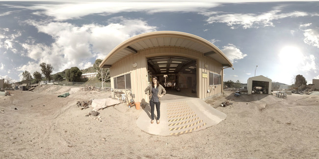 In NASA's Modern Figures career expedition, available on the free Google Expeditions mobile app, Christina Diaz, an engineer at NASA's Jet Propulsion Laboratory (JPL) in Pasadena, California, brings viewers to the Mars Yard at JPL where she develops instruments for Mars rovers such as NASA's Curiosity rover.