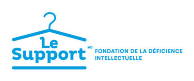 Logo : Le Support - Fondation de la déficience intellectuelle (Groupe CNW/Le Support)