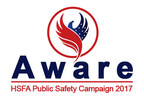 Crystal Glacier Takes Major Sponsorship Role in the Homeland Security Foundation of America's Aware 2017 Public Safety Campaign