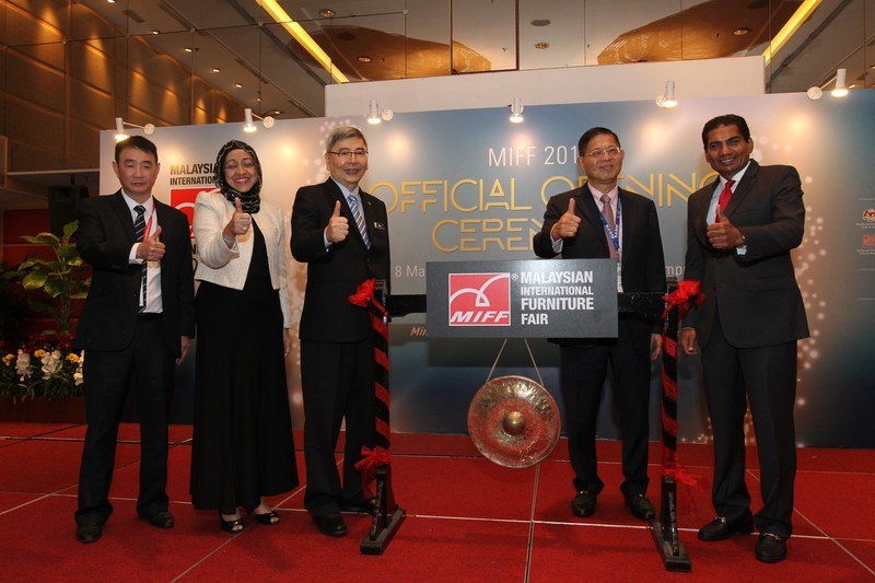 Malaysia's Minister of Plantation Industries and Commodities Datuk Seri Mah Siew Keong was the guest-of-honour at the opening ceremony