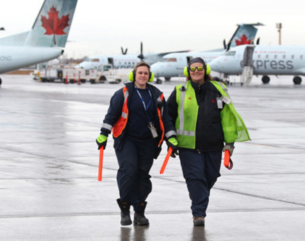 The Sky's the Limit - Air Canada Salutes its Women Employees on International Women's Day (CNW Group/Air Canada)