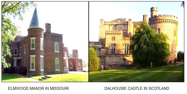 Pioneer Missouri Manor Modeled After Ancient Scottish Castle - New Book Release Details Intriguing Missouri Settlement History
