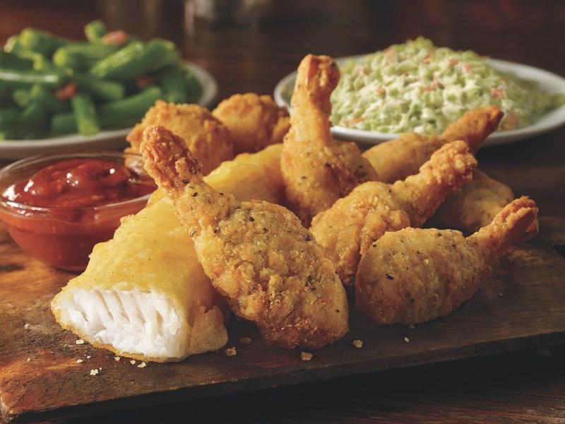 Fish & Home-Style Shrimp