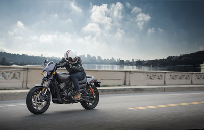 The Harley-Davidson Street Rod motorcycle is tuned for dynamic urban performance and features the new High-Output Revolutionary X Engine and refined chassis to deliver more power and nimble handling.
