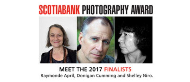 Introducing the 2017 Scotiabank Photography Award Finalists (CNW Group/Scotiabank)