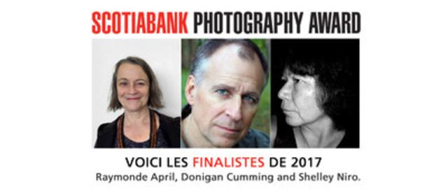 La photographie, un art puissant : Dévoilement de la liste des finalistes du Prix de photographie Banque Scotia 2017 (Groupe CNW/Scotiabank)