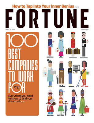 Great Place to Work(R) Research for 2017 Fortune 100 Best Companies Reveals Great Places to Work FOR ALL Will Be Key to Better Business Performance