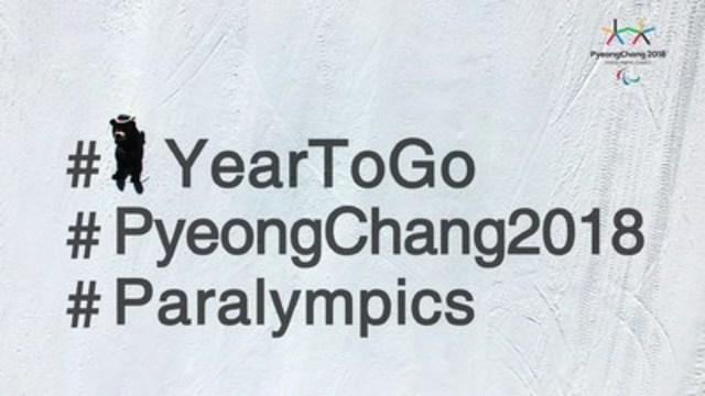 À exactement un an de la cérémonie d'ouverture des Jeux paralympiques d'hiver de PyeongChang 2018 qui auront lieu du 9 au 18 mars 2018, le Comité paralympique canadien attend avec beaucoup d'excitation de concourir en Corée du Sud.  Photo: PyeongChang 2018 (Groupe CNW/Comité paralympique canadien (CPC))
