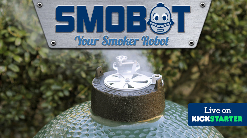 SMOBOT is an affordable and accurate automated temperature control system for most Kamado style smokers.